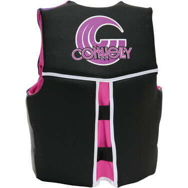 Connelly Youth Classic Neoprene Life Jacket, pink