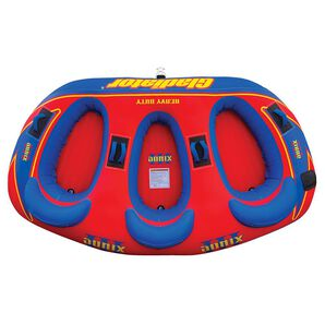 Gladiator Sonix III 3-Person Towable Tube With Lightning Valve