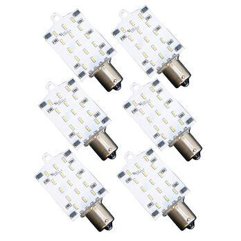 6 Pack LED Replacement Bulb, 12 Watt - Daylight White