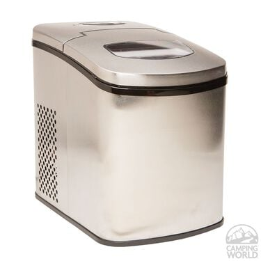 Portable Ice Maker, Stainless Steel