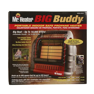 Mr. Heater Big Buddy Portable Indoor Propane Heater