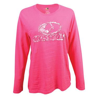Mossy Oak Women's Long-Sleeve Tee - Heliconia