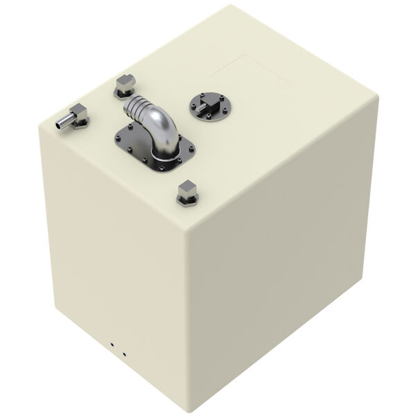 "Scepter Rectangle 18-Gallon Fuel Tank, 18""L x 14""W x 18""H"