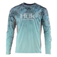HUK Men's Icon X Camo Fade Long-Sleeve Shirt