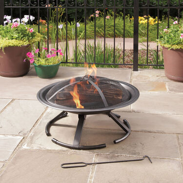Stow and Go Fire Pit