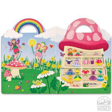 Fairy Puffy Sticker Play Set