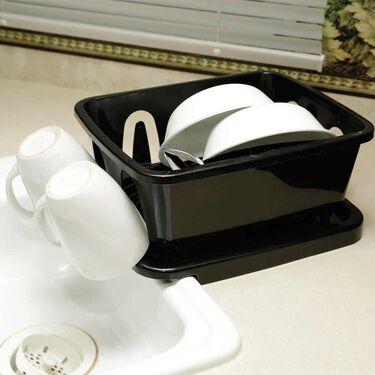 Black RV Dish Drainer