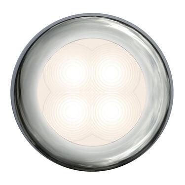 Hella Marine Slim Line LED Light With Stainless Steel Bezel
