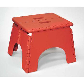"9"" Red Folding Stool"