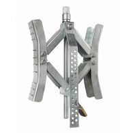 """EazLift - 10"""" Wheel Stop w/Wrench and Lock, Metal"""