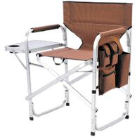 Ming's Mark Inc Director's Folding Chair, Brown