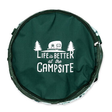 Camco Life is Better at the Campsite Pop-Up Container, Map Design