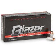 Blazer Handgun Ammo, 9mm Luger, 115-gr., FMJ