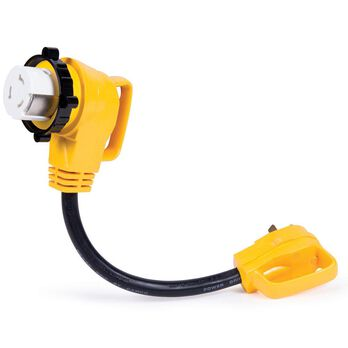 M30A-F50 90° Locking Ring Adapter