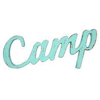 """Camp"" Wall Decor"