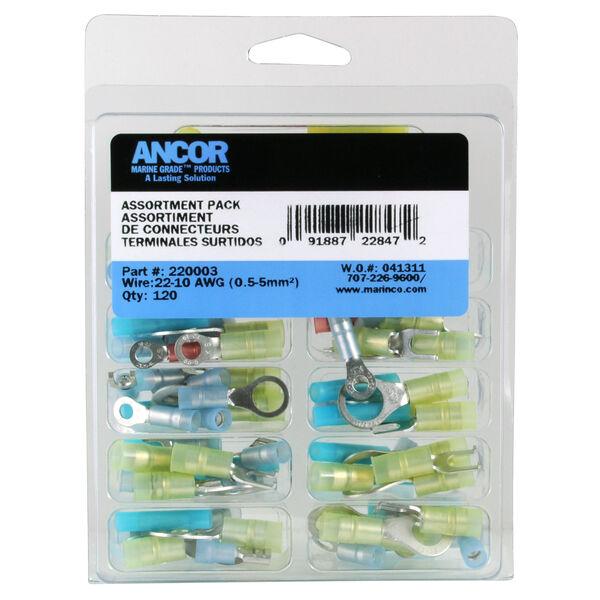 Ancor Premium Nylon Connector Kit (120pc)