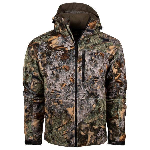 King's Camo Men's Wind-Defender Pro Fleece Jacket