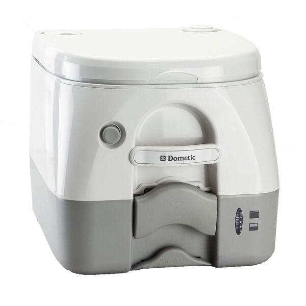 Dometic Portable RV/Marine Toilet - 2.6 Gallon, Gray