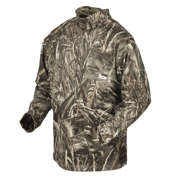 Banded Tec Fleece Mock Neck Shirt