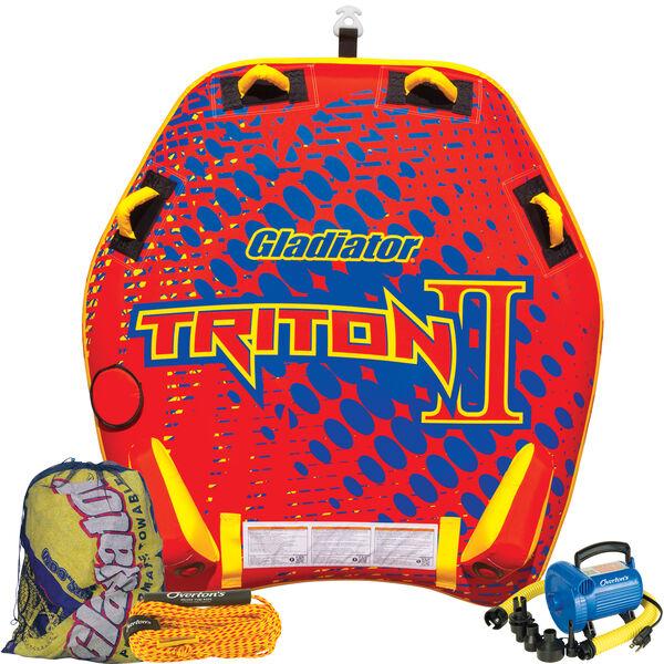 Gladiator Triton 2-Person Towable Tube Package