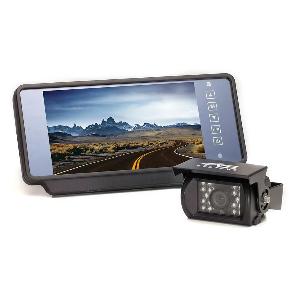 Backup Camera System >> Rear View Safety Backup Camera System With 7 Replacement Mirror Monitor