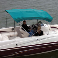 """Shademate Bimini Top Sunbrella Fabric and Boot Only, 4-Bow 8'L, 42""""H, 67""""-72""""W"""
