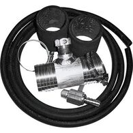 """Diesel Install Kit for Auxiliary and Transfer Fuel Tanks, Fits Ford (2001-up), Dodge (1999 and up), and 2011 Chevy & GMC trucks (2011-up) with 1 1/2"""" fuel fill hoses"""