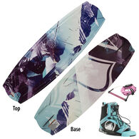 Liquid Force Angel Wakeboard With Plush Bindings And Free Rope