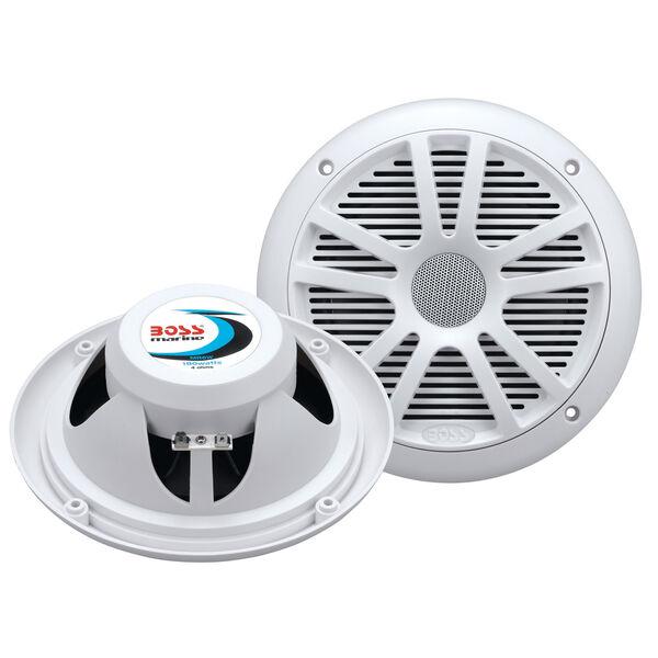 "Boss Marine MR6W 6.5"" Dual Cone Speakers, pair"