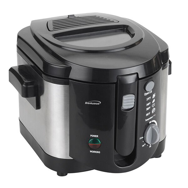 Brentwood DF-720 1200W 8-Cup Electric Deep Fryer