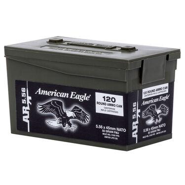 American Eagle AR-5.56 M193 Rifle Ammo Mini Can, 55-gr., FMJ