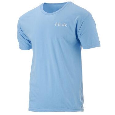 HUK Men's Sporty Shield Short-Sleeve Tee
