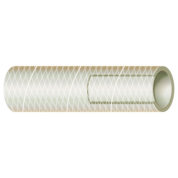 "Sierra 1"" Clear PVC Tubing, 100'L"