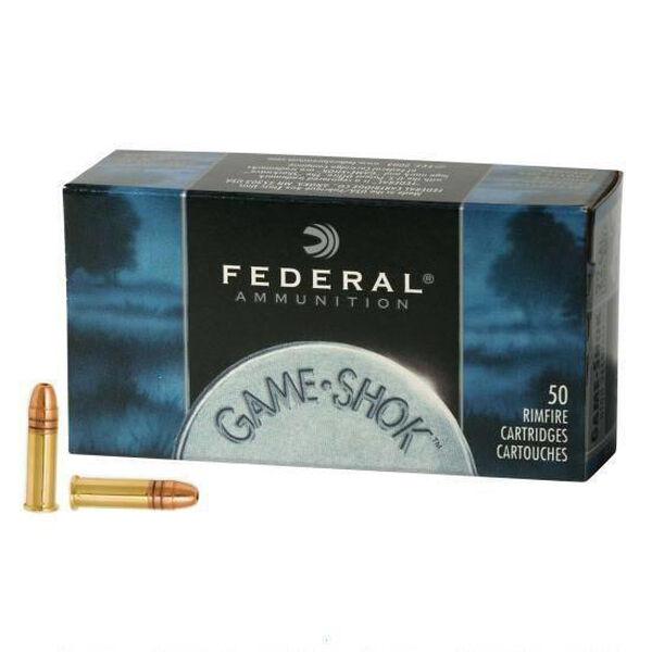 Federal Game-Shok Hyper Velocity Rimfire Ammo, .22 LR, 40-gr., CPRN