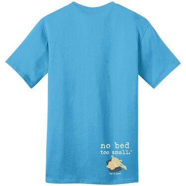Dog is Good Never Sleep Alone Unisex Tee, XXLarge