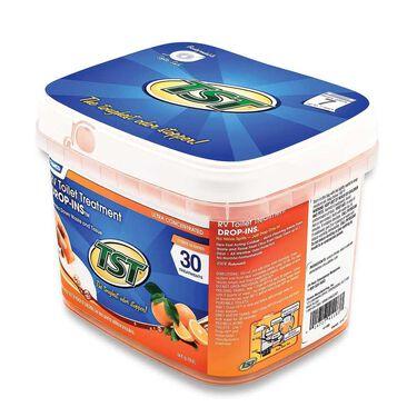 TST Drop-Ins 30-Pack Bucket, Orange Citrus Scent