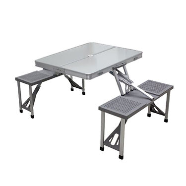 Picnic Table, Silver