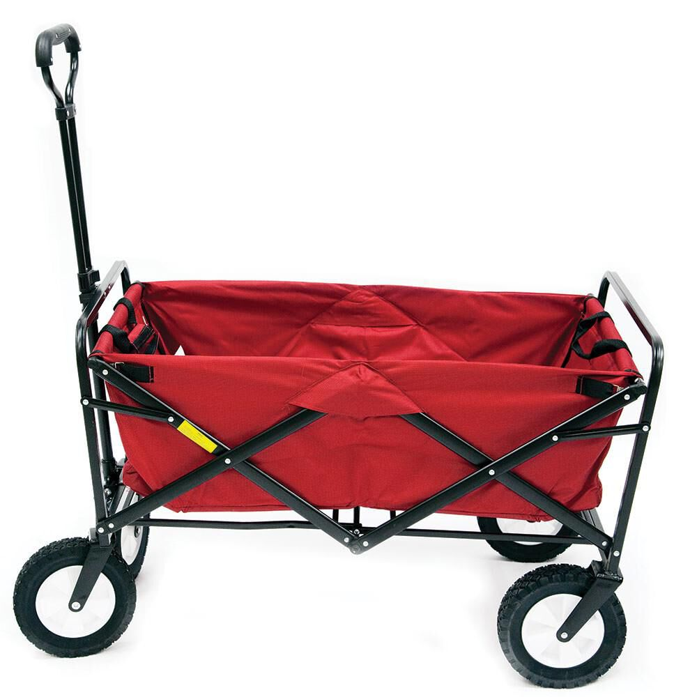 Mac Sports Macwagon Foldable and Wheeled Red Wagon  36b5f32cd0