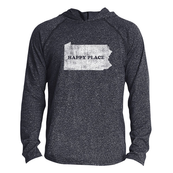 Points North Men's Pennsylvania ''Happy Place'' Long-Sleeve Hooded Tee