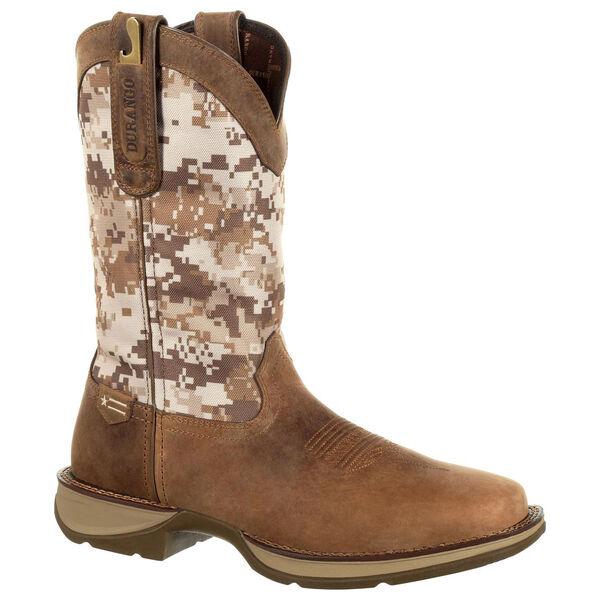 Durango Men's Rebel Desert Camo Square-Toe Western Boot