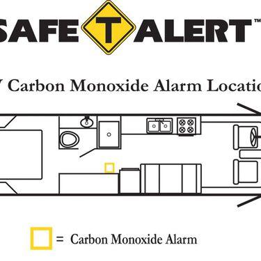 Safe-T-Alert Carbon Monoxide Alarm - Surface Mount