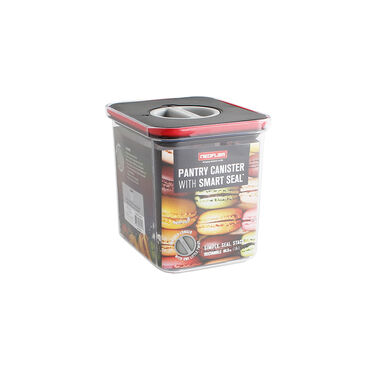 Neoflam Rectangle Pantry Canister with Smart Seal Lid, 60.8 oz.