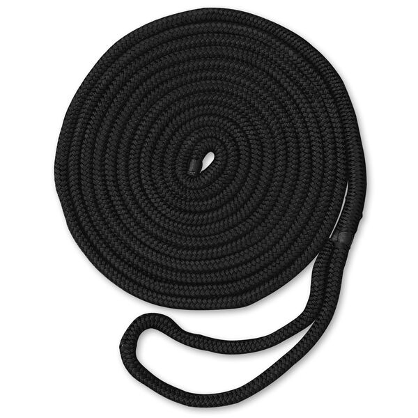 "Dockmate Premium Double Braid Nylon Dock Line, 5/8"" x 25'"