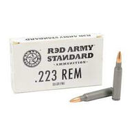 Century Arms Red Army Standard White Ammunition, .223 Rem, 55 Gr. FMJ, 20 Rounds