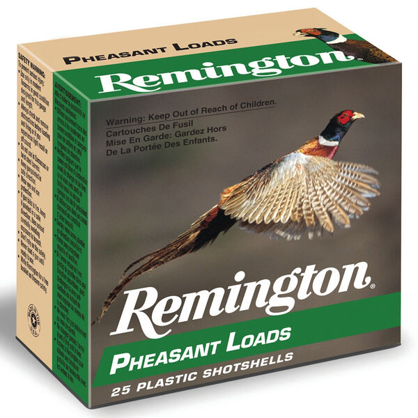 "Remington Pheasant Loads, 12-ga., 2-3/4"", 1-1/4 oz."