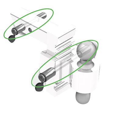 Andersen Stainless Steel Rapid Hitch Lock Set