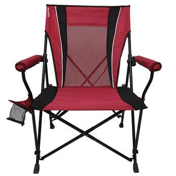 Dual Lock Hard Arm Chair, Red
