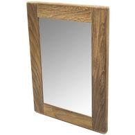 SeaForce Teak Rectangular Mirror Frame