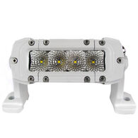 "Marine Sport Single Row 6"" LED Light Bar, White"