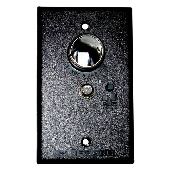 Wall Plate/Power Supply - Brown